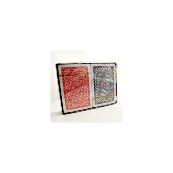 cartas de plastico 100%