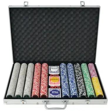 maletin de poker 1000