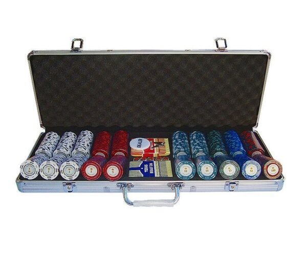 maletin poker montecarlo 500 fichas