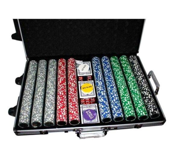 maletin de poker 1000 laser